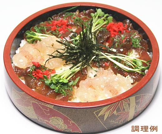 伊勢海老&たれ漬かつおてこね寿司の素(5人前用) イメージ